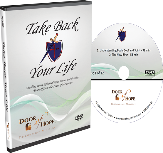 DVD and case of Take Back Your Life