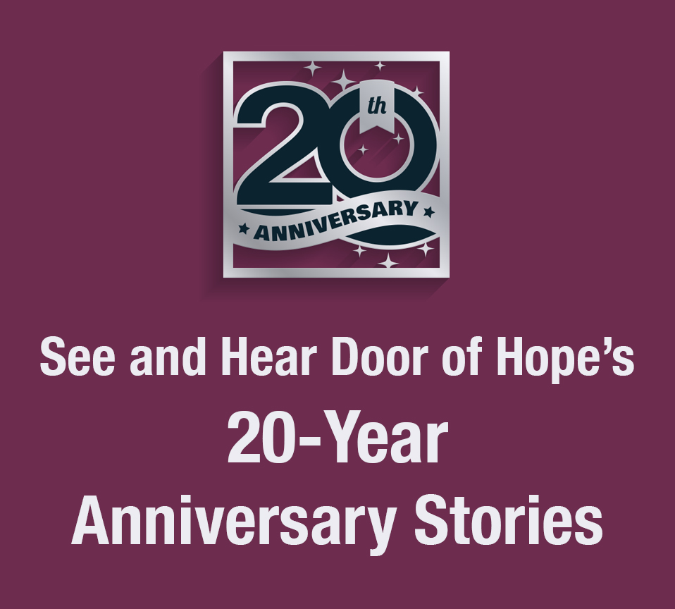 door of hope ministry 20th anniversary